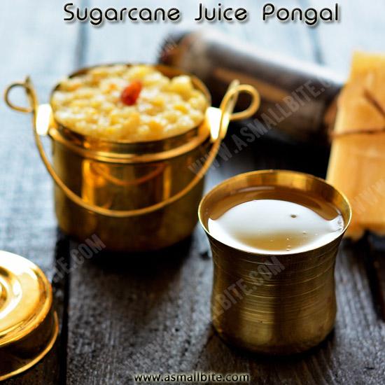 Sugarcane Juice Pongal Recipe