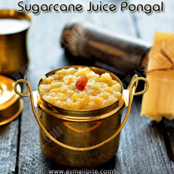 Sugarcane Juice Pongal Festival Recipes 2018