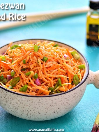 Veg Schezwan Fried Rice Recipe 1