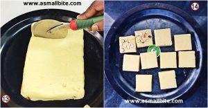 Instant Burfi Recipe Step7