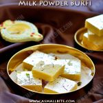 Milk Powder Burfi Recipe | Instant Burfi Recipe