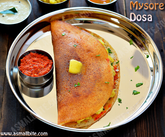Mysore Dosa Recipe 1