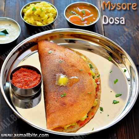 Mysore Dosa Recipe