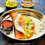 Mysore Masala Dosa Recipe 1