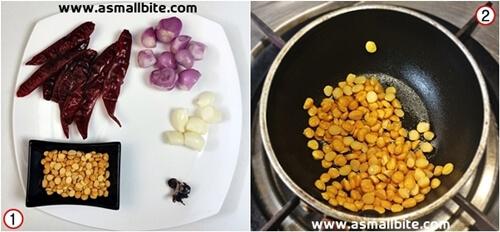 Mysore Masala Dosa Recipe Steps1