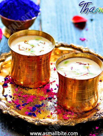 Thandai Recipe | Easy Holi Recipes