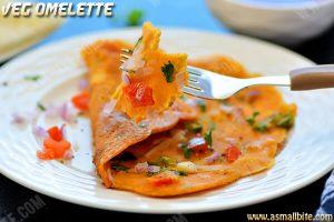 Veg Omelette Recipe 1
