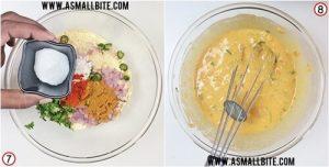 Veg Omelette Recipe Steps4