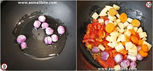 Arachuvitta Sambar Recipe Step5