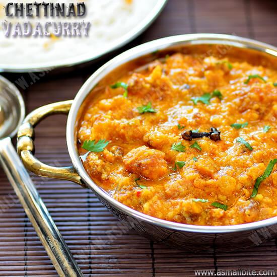Chettinad Vadacurry Recipe 1