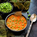 Green Peas Gravy Recipe