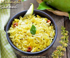 Maangai Sadam Recipe 1