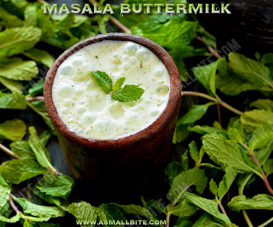 Masala Buttermilk Recipe 1
