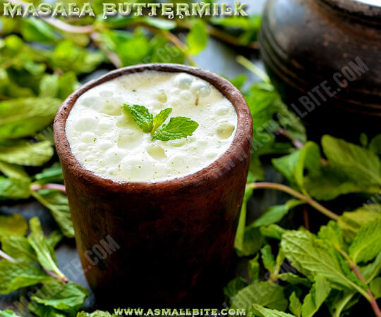 Masala Buttermilk Recipe