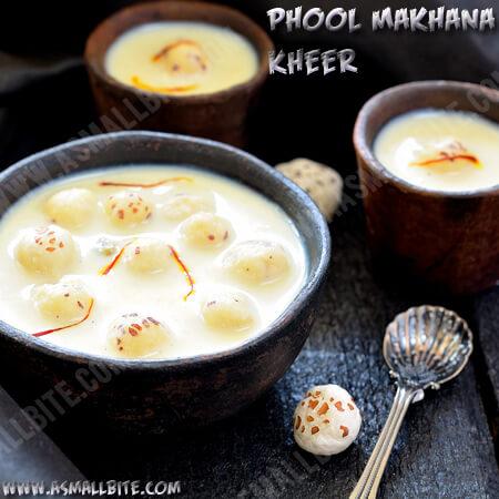 Phool Makhane ki Kheer
