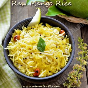 Raw Mango Rice Recipe 1