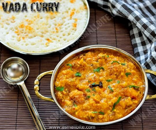 Vada Curry Recipe