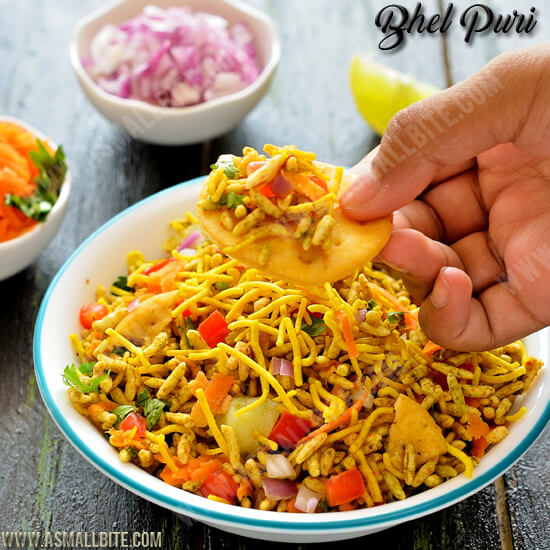 Bhel Puri Recipe 1