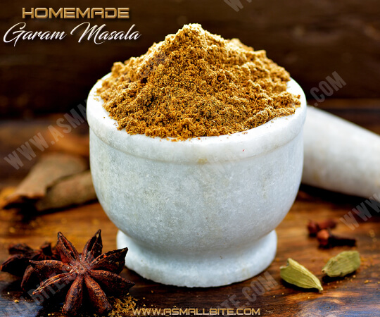 Homemade Garam Masala Powder 1
