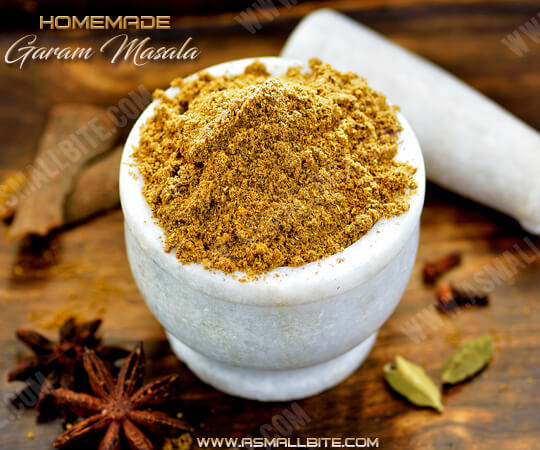 Homemade Garam Masala Powder