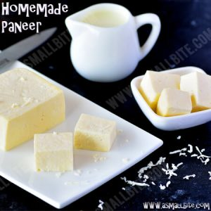 Homemade Paneer Recipe 1