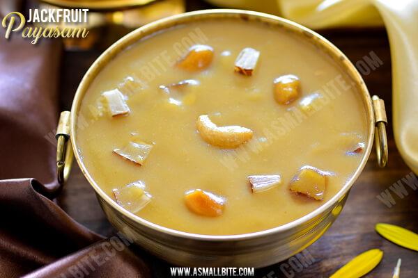 Jackfruit Payasam Recipe 1
