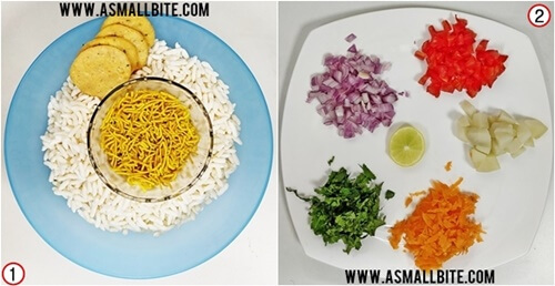 Mumbai BhelPuri Recipe Steps1
