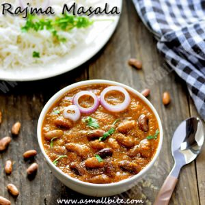 Rajma Masala Recipe 1
