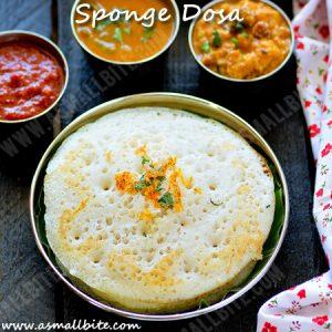 Sponge Dosa Recipe
