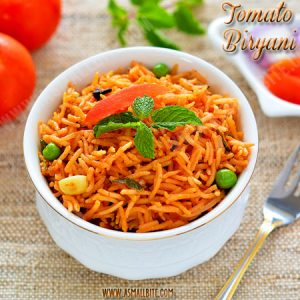 Tomato Biryani Recipe