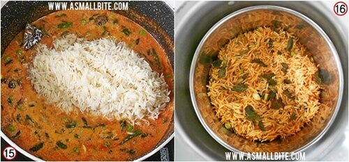 Tomato Biryani Recipe Steps8