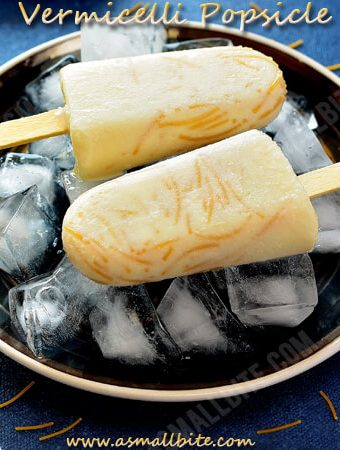 Vermicelli Popsicle Recipe | Semiya Paal Ice