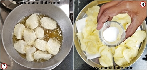 Baked Potato Chips Steps4