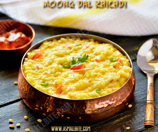 Moong Dal Khichdi Recipe 1