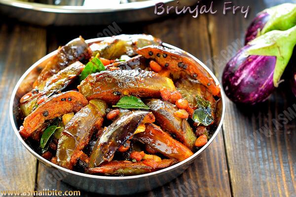 Brinjal Fry Recipe 1