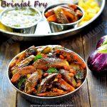 Brinjal Fry Recipe | Ennai Kathirikkai Fry Recipe