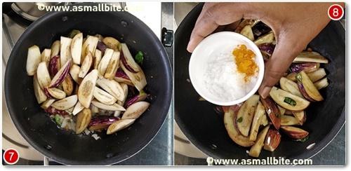 Brinjal Fry Recipe Steps4
