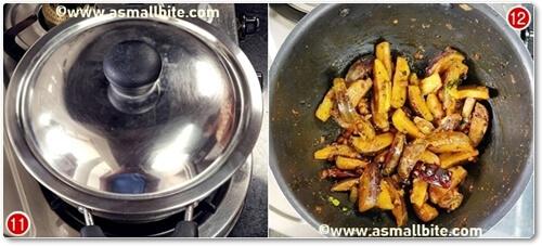 Brinjal Fry Recipe Steps6