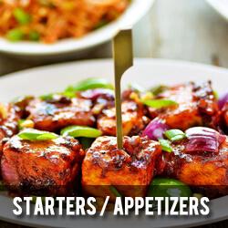 Starters Appetizers