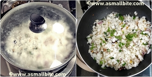 Easy South Indian Idli Upma Steps8