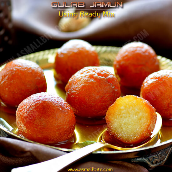 Gulab Jamun Using Ready Mix 1