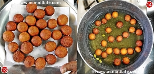 Gulab Jamun Using Ready Mix Steps7