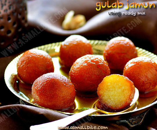 Gulab Jamun Using Ready Mix