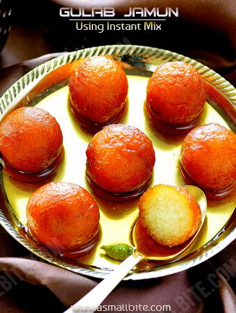 Gulab Jamun with Instant Mix 1