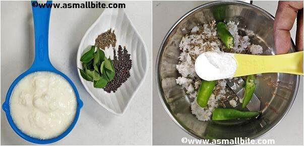 How to make avial recipe Steps2