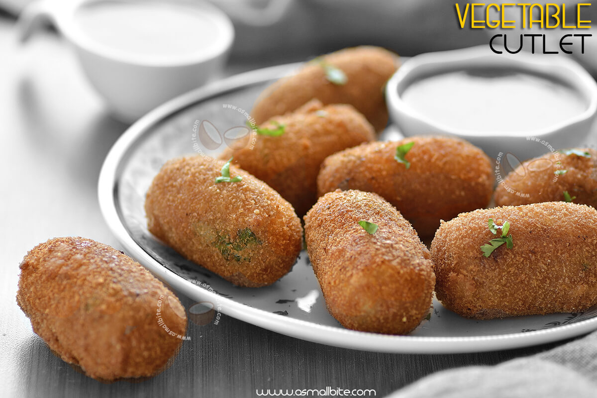 Indian Vegetable Cutlet Recipe