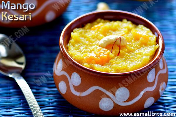 Mango Kesari Recipe 1