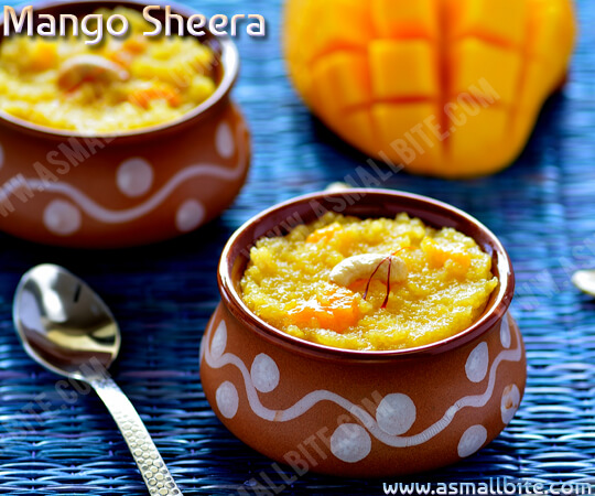 Mango Sheera Recipe 1
