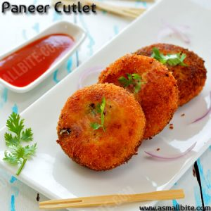 Paneer Cutlet Recipe 1