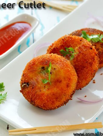 Paneer Cutlet Recipe 1